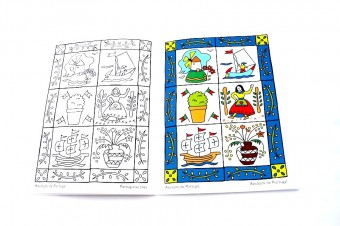 ortugal colour book inside azulejos de portugal