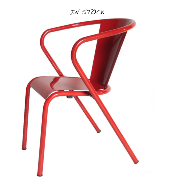 arcalo-chair-red in stock