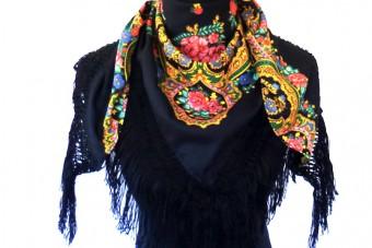 black Viana de Castelo scarf