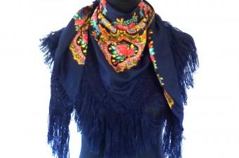 dark blue Viana de Castelo scarf