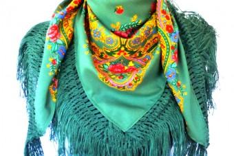 green Viana de Castelo scarf