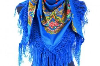 light blue Viana de Castelo scarf