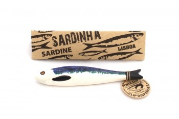 Brittany ceramic sardine with box