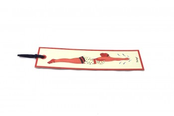 woman bookmark