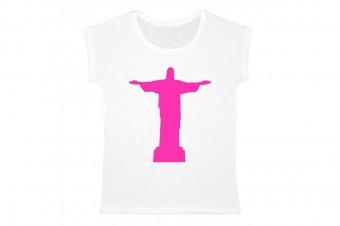 medium Christ the reedemer tee-shirt