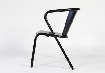 Arcalo chair black mat