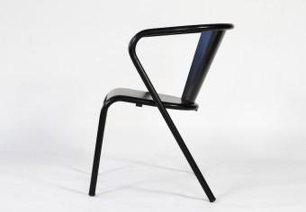Arcalo chair black mat