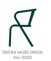 arcalo chair moss green
