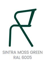 arcalo chair moss green