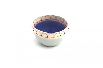 Anna Westerlund blue bowl, recto