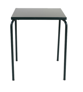 arcalo square table black
