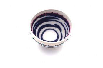 Anna Westerlund dark blue bowl