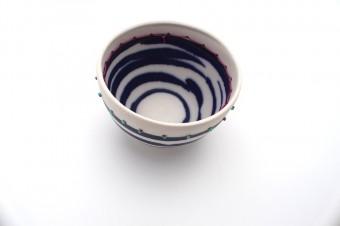 Anna Westerlund dark blue bowl anna