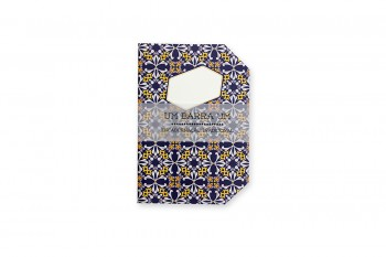 "Portuguese tile pattern ""Athlos"" notebook A5-recto"
