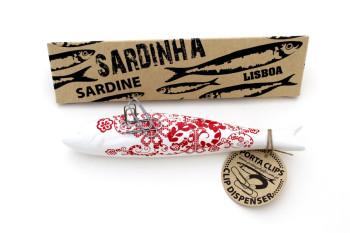 valentines ceramic sardines