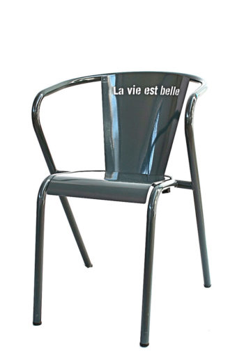 la vie est belle chair grey chair