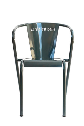 la vie est belle chair grey cinza